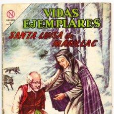 Tebeos: VIDAS EJEMPLARES : SANTA LUISA DE MARILLAC.. Lote 28218834