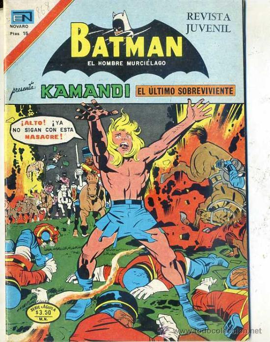 BATMAN Nº2-868 - 32 PÁGINAS 14X20 - 1977 (Tebeos y Comics - Novaro - Batman)