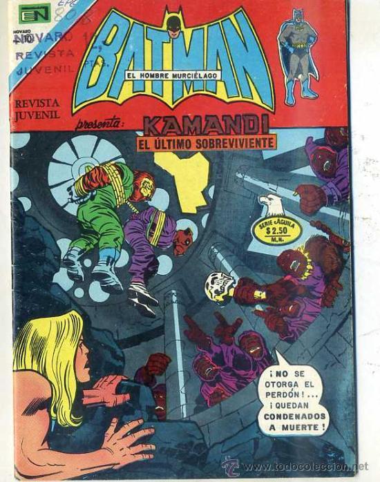 BATMAN Nº808 - 32 PÁGINAS 14X20 - 1975 (Tebeos y Comics - Novaro - Batman)
