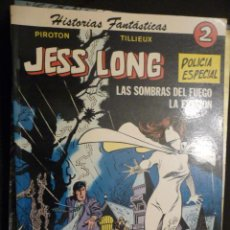 Tebeos: JESS LONG. Nº 2. LAS SOMBRAS DEL FUEGO/LA EVASIÓN. PIROTON/TILLIEUX. NOVARO. Lote 28513399