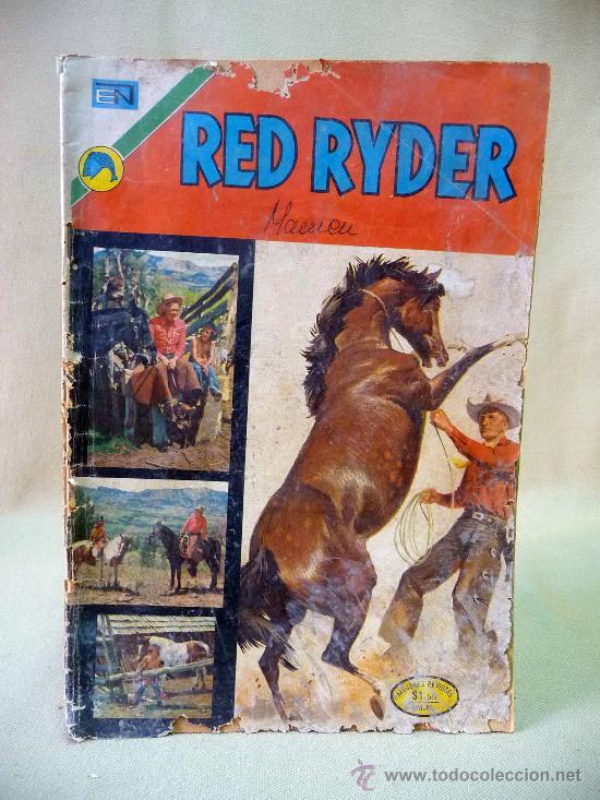 COMIC, RED RYDER, AÑO XIX, Nº 293, 1972, ORIGINAL, NOVARO (Tebeos y Comics - Novaro - Red Ryder)