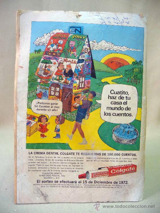 Tebeos: COMIC, RED RYDER, AÑO XIX, Nº 293, 1972, ORIGINAL, NOVARO - Foto 3 - 28494497