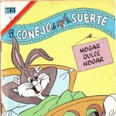 Tebeos: EL CONEJO DE LA SUERTE 523 SERIE AGUILA 1977 EDITORIAL NOVARO BUGS BUNNY PORKY DUMBO. Lote 28464048