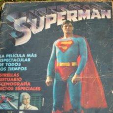 Tebeos: UXC SUPERMAN EDICION ESPECIAL 1979 DC COMICS EDITORIAL NOVARO VERSION OFICIAL WARNER BROS 1ª EDICION. Lote 28499442
