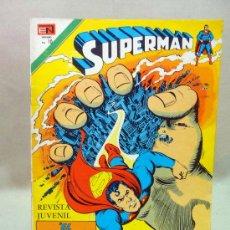Tebeos: COMIC, SUPERMAN, EL DESTRUCTOR DE METROPOLIS, AÑO XXIV, Nº 1029, 1975, NOVARO. Lote 28648232