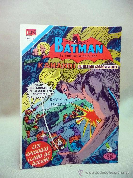 COMIC, BATMAN, KAMANDI, , AÑO XXV, Nº 2- 892, NOVARO, 1977 (Tebeos y Comics - Novaro - Batman)