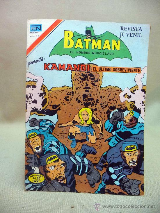 COMIC, BATMAN, KAMANDI, AÑO XXV, Nº 2- 884, ORIGINAL, NOVARO (Tebeos y Comics - Novaro - Batman)