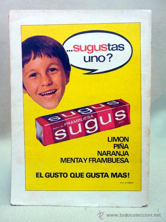 Tebeos: COMIC, SUPERMAN, LO QUE TODOS ESPERABAN , AÑO XXIV, Nº 1046, 1976, NOVARO - Foto 2 - 28648259