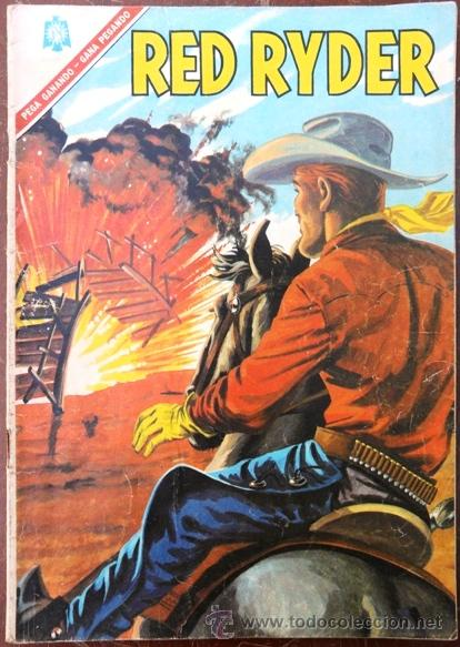 RED RYDER # 145 - NOVARO - AÑO 1966 - EXCELENTE ESTADO - CROMOS RAICES HISTORICAS DE MEXICO (Tebeos y Comics - Novaro - Red Ryder)