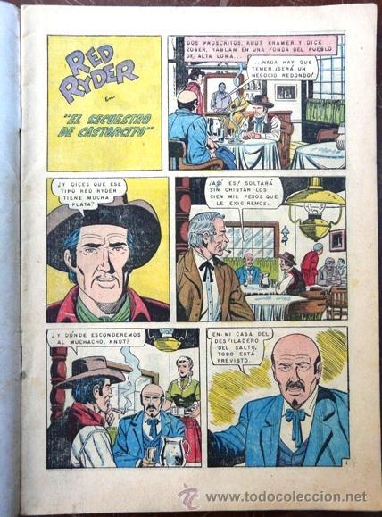 Tebeos: RED RYDER # 145 - NOVARO - AÑO 1966 - EXCELENTE ESTADO - CROMOS RAICES HISTORICAS DE MEXICO - Foto 2 - 28614859
