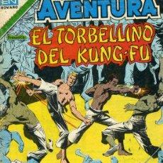 Tebeos: EL TORBELLINO DEL KUNG-FU (AVENTURA Nº2-912) EDITORIAL NOVARO. Lote 28635227