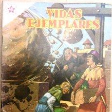 Tebeos: VIDAS EJEMPLARES # 32 NOVARO 1956 SAN FRANCISCO DE PAULA MUY BUEN ESTADO. Lote 28680954