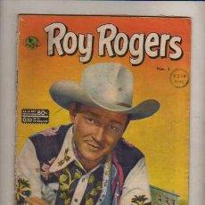 Tebeos: ROY ROGERS NUMERO ---3 DE 1952----NOVARO--GRAN PIEZA DE UNA COLECCION DE CASI 800 NUMEROS . Lote 28689406