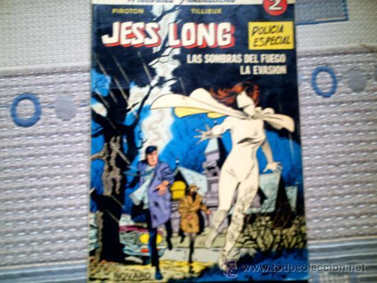 JESS LONG. LAS SOMBRAS DEL FUEGO (PIROTON) (Tebeos y Comics - Novaro - Aventura)