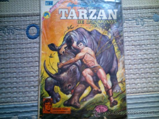 TARZAN DE LOS MONOS Nº 338, DE JOE KUBERT (Tebeos y Comics - Novaro - Tarzán)