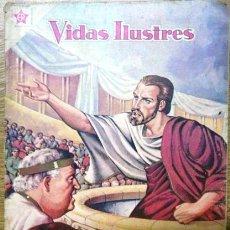 Tebeos: VIDAS ILUSTRES # 55 - AÑO 1960 - DEMOSTENES, GENIO DE LA ELOCUENCIA - NOVARO (ER). Lote 28918141