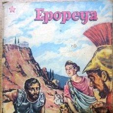 Tebeos: EPOPEYA # 18 NOVARO 1959 LA CARRERA DE MARATON, FILIPIDES CON DETALLES. Lote 28918262