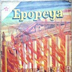 Tebeos: EPOPEYA # 37 NOVARO 1961 EL TEMPLO DE DIANA EN EFESO BUEN ESTADO. Lote 28918275