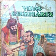 Tebeos: VIDAS EJEMPLARES # 104 NOVARO 1961 SAN PEDRO CLAVER. Lote 28918290