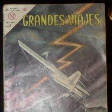 Tebeos - grandes viajes nº 13 1964 comics novaro lindbergh cruza en atlantico - 29009998