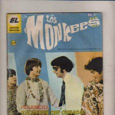 Tebeos: LOS MONKEES N.5 - SERIE DE TV MUSICA BEAT . Lote 29149783