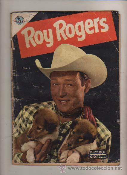 ROY ROGERS N 7 DE 1953 ASES DEL RODEO -EDIT. EMSA ANTES DE NOVARO (Tebeos y Comics - Novaro - Roy Roger)
