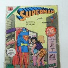 Tebeos: SUPERMAN - ED. NOVARO - N. 888 - AÑO 1972, LOMO ROZADO.. Lote 29251685