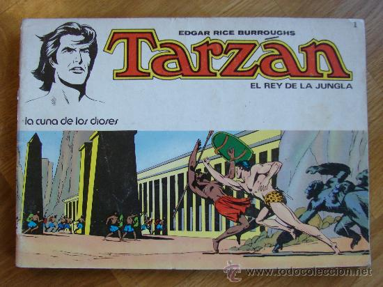 TARZAN Nº 1. EL REY DE LA JUNGLA. NOVARO AÑO 1975. (Tebeos y Comics - Novaro - Tarzán)
