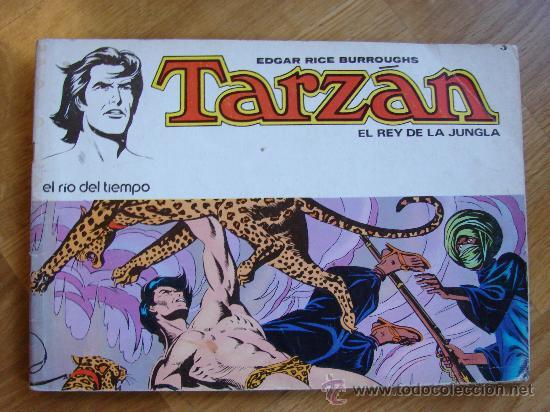 TARZAN Nº 3. EL RIO DEL TIEMPO. NOVARO AÑO 1976 (Tebeos y Comics - Novaro - Tarzán)
