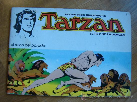 TARZAN Nº 4. EL REINO DEL PASADO. NOVARO AÑO 1977 (Tebeos y Comics - Novaro - Tarzán)