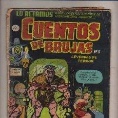 Tebeos: CUENTOS DE BRUJAS N.17-LEYEND. DE TERROR LA PRENSA MEXICANA EDIT. USA. HARVEY COMICS-MEXICO. Lote 29470535