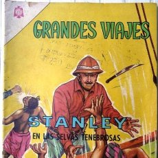 Tebeos: GRANDES VIAJES # 19 - AÑO 1964 - STANLEY EN LAS SELVAS TENEBROSAS - EDITORIAL NOVARO - . Lote 29472720