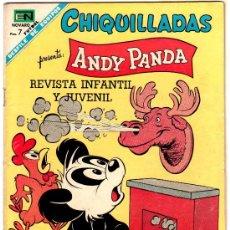 Tebeos: CHIQUILLADAS Nº 244 - NOVARO - ANDY PANDA. Lote 29487652