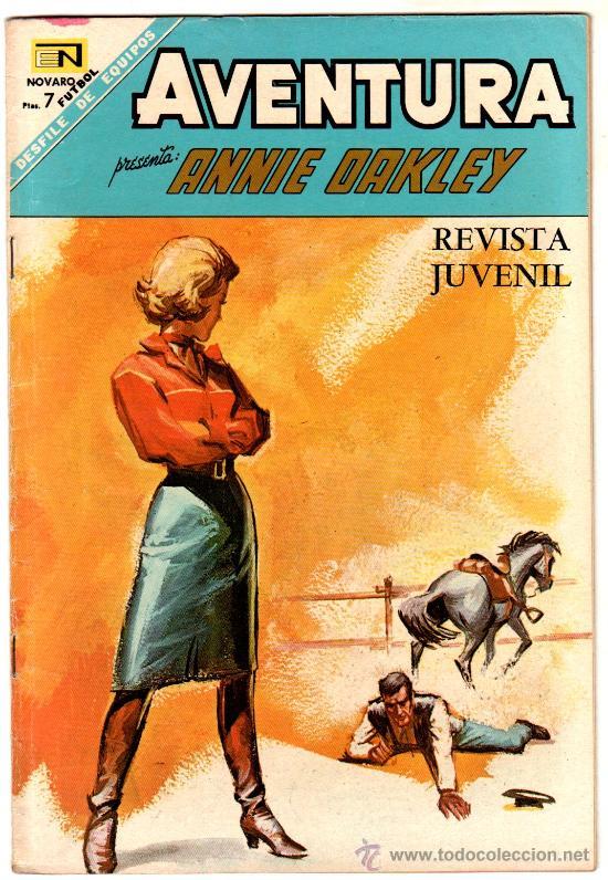 AVENTURA PRESENTA : ANNIE OAKLEY Nº 533 - NOVARO (Tebeos y Comics - Novaro - Aventura)