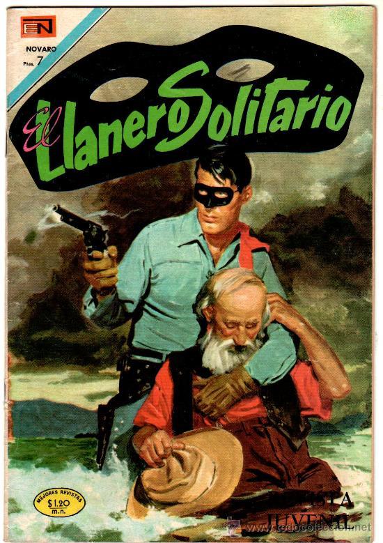 EL LLANERO SOLITARIO Nº 205 - NOVARO (Tebeos y Comics - Novaro - El Llanero Solitario)