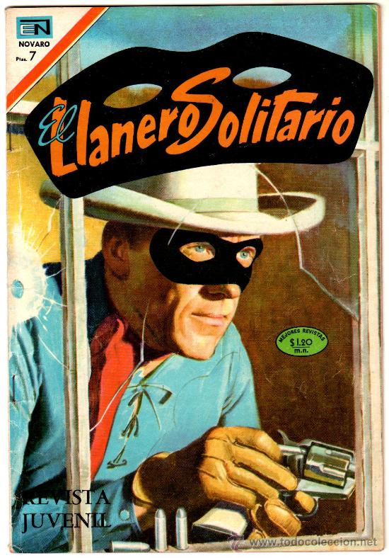 EL LLANERO SOLITARIO Nº 206 - NOVARO (Tebeos y Comics - Novaro - El Llanero Solitario)