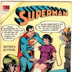 Tebeos: SUPERMAN NOVARO Nº 833. Lote 29488241