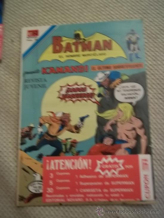 BATMAN - EDICIONES NOVARO SERIE AGUILA Nº 932 (Tebeos y Comics - Novaro - Batman)