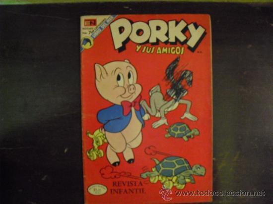PORKY - NOVARO Nº320 AÑO 1973 (Tebeos y Comics - Novaro - Porky)