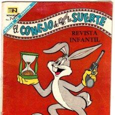 Livros de Banda Desenhada: EL CONEJO DE LA SUERTE Nº 289 - 1968, NOVARO - EL CONEJO BUGS, PIOLIN Y SILVESTRE, QUIQUE GAVILAN. Lote 29969627