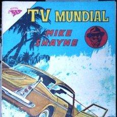 Tebeos: TV MUNDIAL # 2 MIKE SHAYNE EDITORIAL NOVARO AÑO 1962 EXCELENTE ESTADO. Lote 30155832