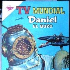 Tebeos: TV MUNDIAL # 3 DANIEL EL BUZO EDITORIAL NOVARO AÑO 1962 EXCELENTE ESTADO. Lote 30155835