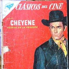 Tebeos: CLASICOS DEL CINE # 25 - CHEYENE - NOVARO (SEA) - AÑO 1958 - DE COLECCION. Lote 30167865