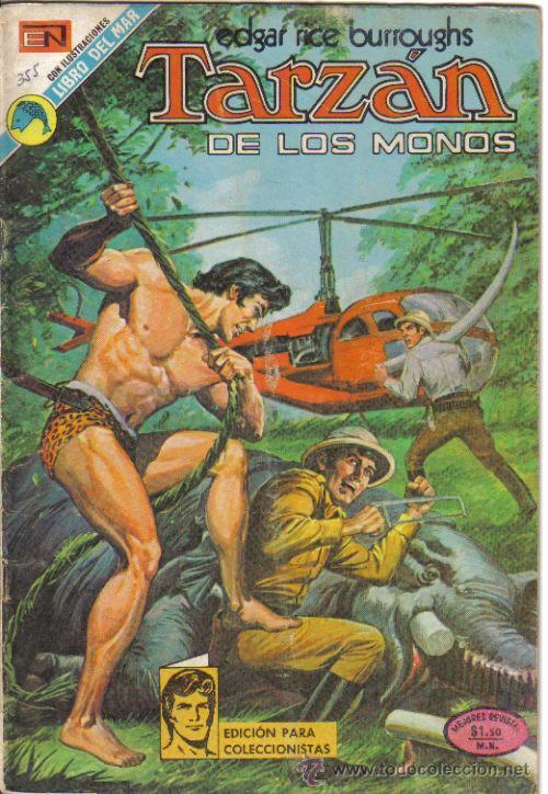 TARZAN, NOVARO, Nº 355, 1973. LITERACOMIC. (Tebeos y Comics - Novaro - Tarzán)