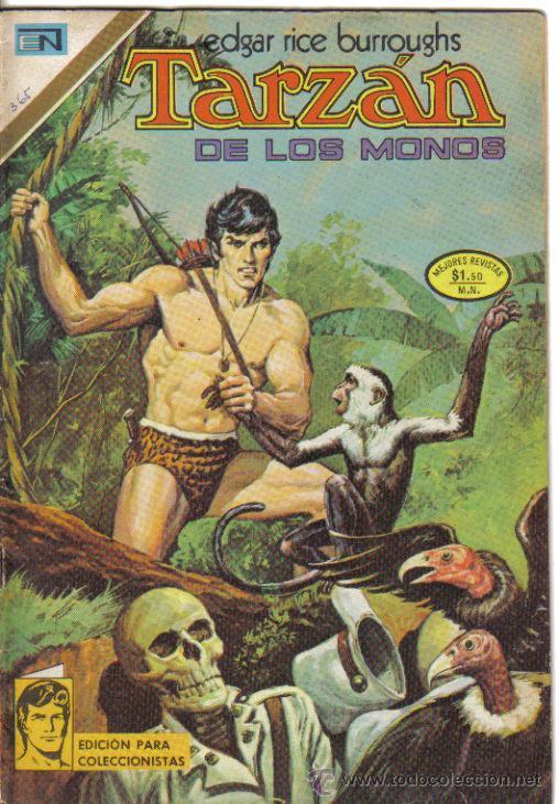 TARZAN, NOVARO, Nº 365, 1973. LITERACOMIC. (Tebeos y Comics - Novaro - Tarzán)