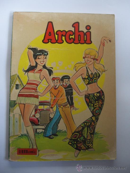 COMIC ARCHI - LIBRO COMIC - AÑO 1973 - EDITORIAL NOVARO (Tebeos y Comics - Novaro - Otros)