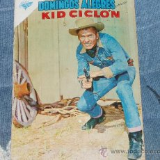 Tebeos: DOMINGOS ALEGRES. NOVARO. KID CICLON. 1960. ES PIES DE PLATA (WILL HUTCHINS-SUGARFOOT). Lote 30665339