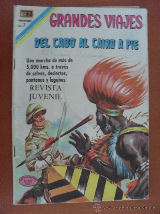 GRANDES VIAJES Nº 84 -- NOVARO -- 1970 (Tebeos y Comics - Novaro - Grandes Viajes)