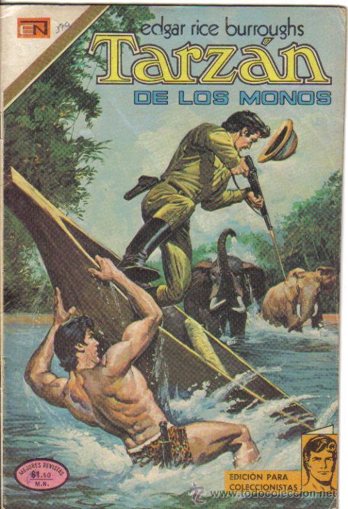 TARZAN Nº 370, NOVARO 1973. LITERACOMIC. (Tebeos y Comics - Novaro - Tarzán)