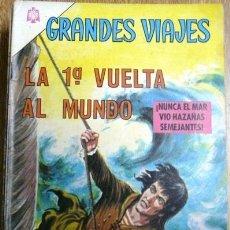 Tebeos: GRANDES VIAJES # 36 - AÑO 1966 - NOVARO - LA 1A. VUELTA AL MUNDO - JOYA DE COLECCION. Lote 30840421